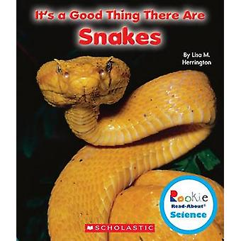 It's a Good Thing There Are Snakes by Lisa M Herrington - 97805312283