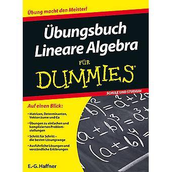 Ubungsbuch Lineare Algebra Fur Dummies by E.-G. Haffner - 97835277072