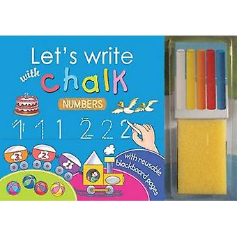 Let's Write with Chalk - Numbers by Sterling Publishers - 978812077493