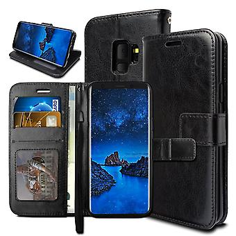 Portefeuille Case Galaxy S9 Plus, 3 cartes/ID