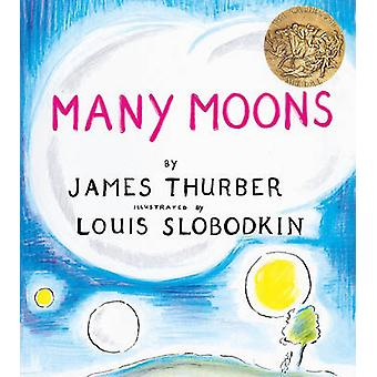 Many Moons by James Thurber - Louis Slobodkin - 9780613513180 Book