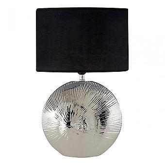 Premier hem Hattie bordslampa, silver