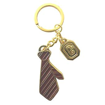 Harry Potter nøglering Nøglerings huset Gryffindor uniform slips nye officielle metal
