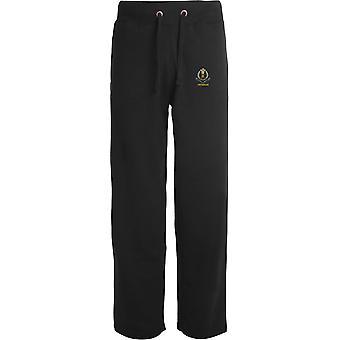 Middlesex Regiment Veteran - Licensed British Army Embroidered Open Hem Sweatpants / Jogging Bottoms
