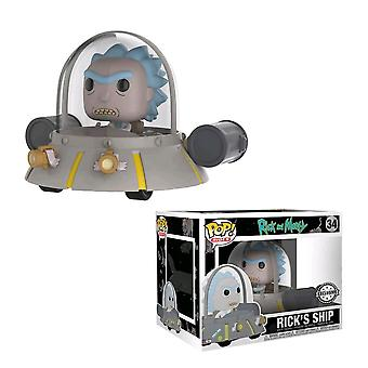 Rick and Morty Rick's Ship US Exclusive Pop! Ride