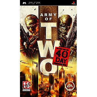 Armée de deux le 40ème jour (PSP) - Usine scellée