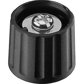 Control knob Black (Ø x H) 21 mm x 17.5 mm Ritel 26 21 60 3 1 pc(s)