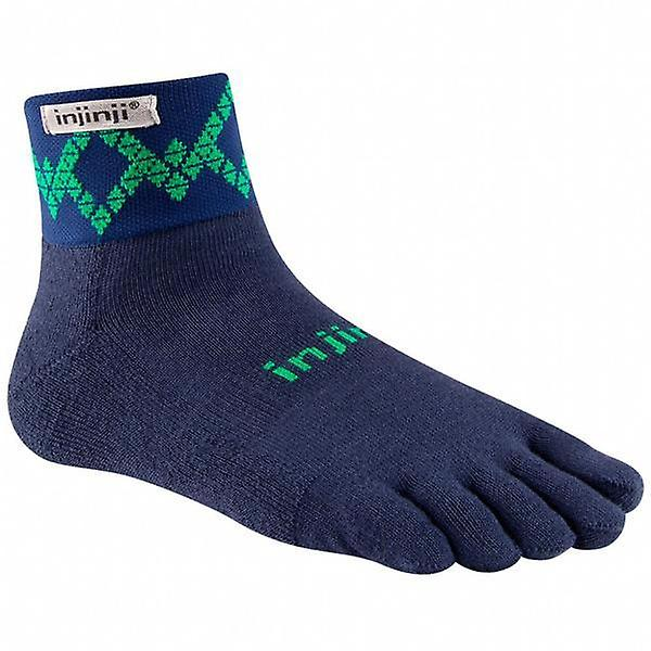 Injinji Trail 2.0 Mid Weight Mini Crew Toesocks
