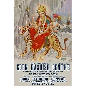 Vintage Vices Eden Hashish Center Poster Print by Vintage Vices
