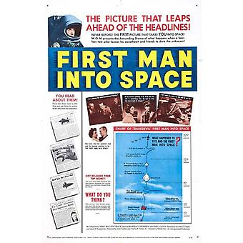 First Man into Space Movie Poster Print (27 x 40)