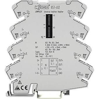WAGO 857-402 Universal Isolation Amplifier Content: 1 pc(s)
