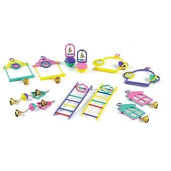 Clásico pájaro Popular juguete 12pc surtido (paquete de 12)