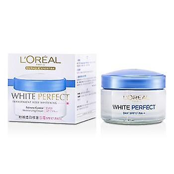 L'oreal Dermo-Expertise White Perfect Fairness Control Moisturizing Cream Day SPF17 PA++ - 50ml/1.7oz