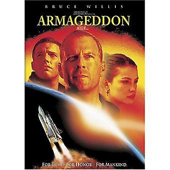 Armageddon [DVD] USA importerer