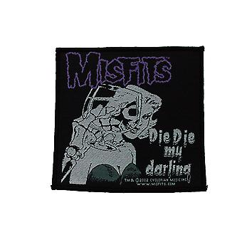 Misfits Die Die My Darling Woven Patch