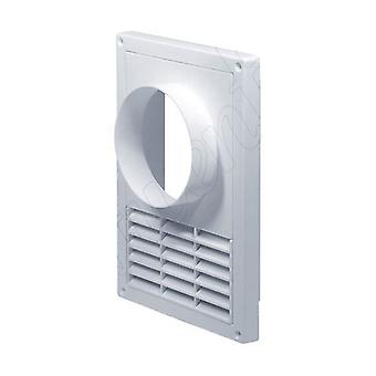 Cocina 130x200mm cocina campana pared ventilación Rejilla tapa 100mm diámetro de la tubería