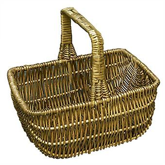 Medium Southport Wicker Shopping Basket