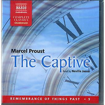 Proust: The Captive (Unabridged) (Remembrance of Things Past) (Audio CD) by Proust Marcel