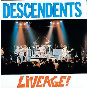Efterkommere - Liveage [Vinyl] USA importerer