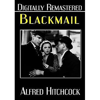 Blackmail [DVD] USA import