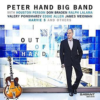 Hånd, Peter Big Band Featuring Houston Person - ud af hånden [CD] USA import