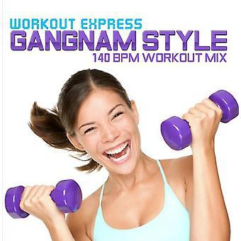 Workout Express - Gangnam Style (140 Bpm Workout Mix) [CD] USA import