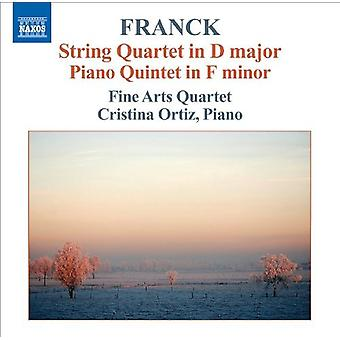 C. Franck - Franck: Strykekvartett; Piano Quintet [DVD] USA importere