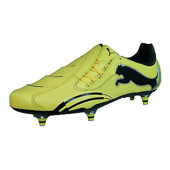 Puma Powercat 1.10 Rugby WC SG Mens cuoio Scarpini Rugby - giallo