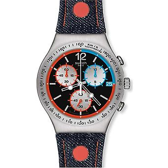 Swatch Since 2013 Chronograph Mens Watch YCS571
