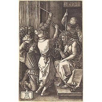 Albrecht Durer - Christ Crowned with Thorns Poster Print Giclee