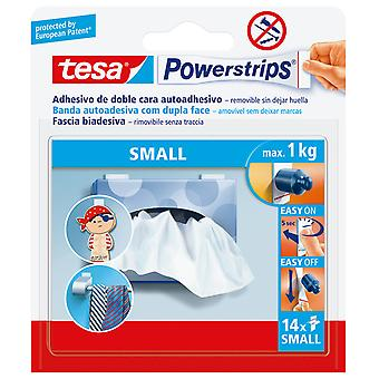Tesa Powerstrips Small Self-Adhesive Strips Removable