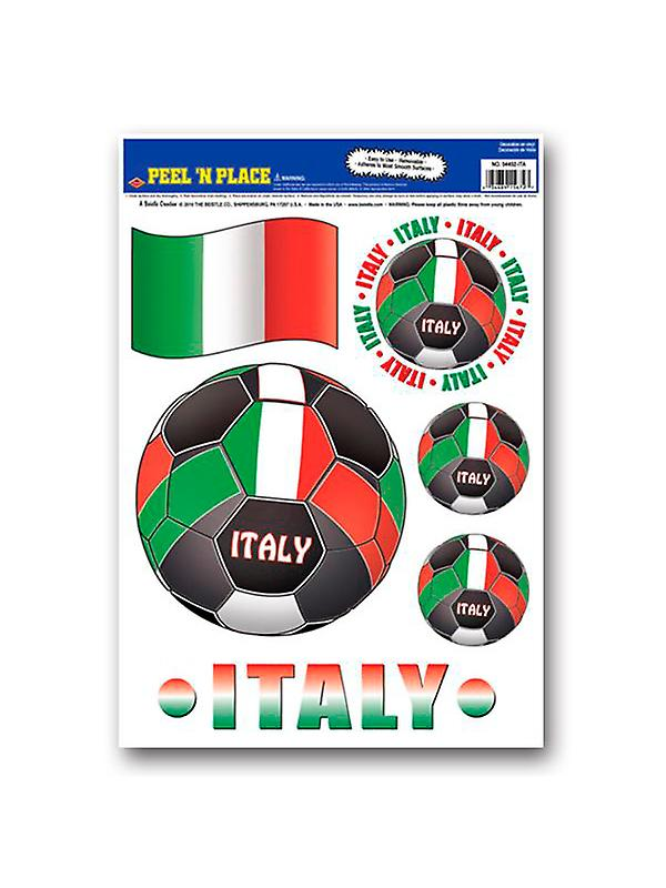 Italy Peel 'n' Place Removable Stickers