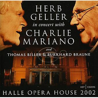 Herb Geller & Charlie Mariano - Halle operahus 2002 [CD] USA import