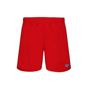 arena of fundamentals of sides vent Boxer shorts men's swimwear Red
