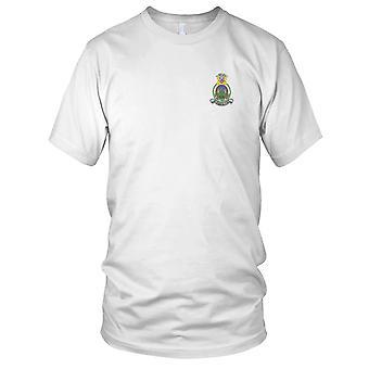 Edzell de RAF de grupo de segurança Naval da Marinha dos EUA, Reino Unido bordada Patch - Mens T-Shirt