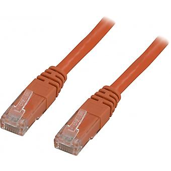 DELTACO U/UTP Cat5e patchkabel 2m, orange