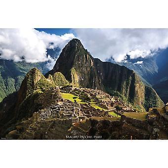 Machu Picchu Peru Plakat Poster drucken