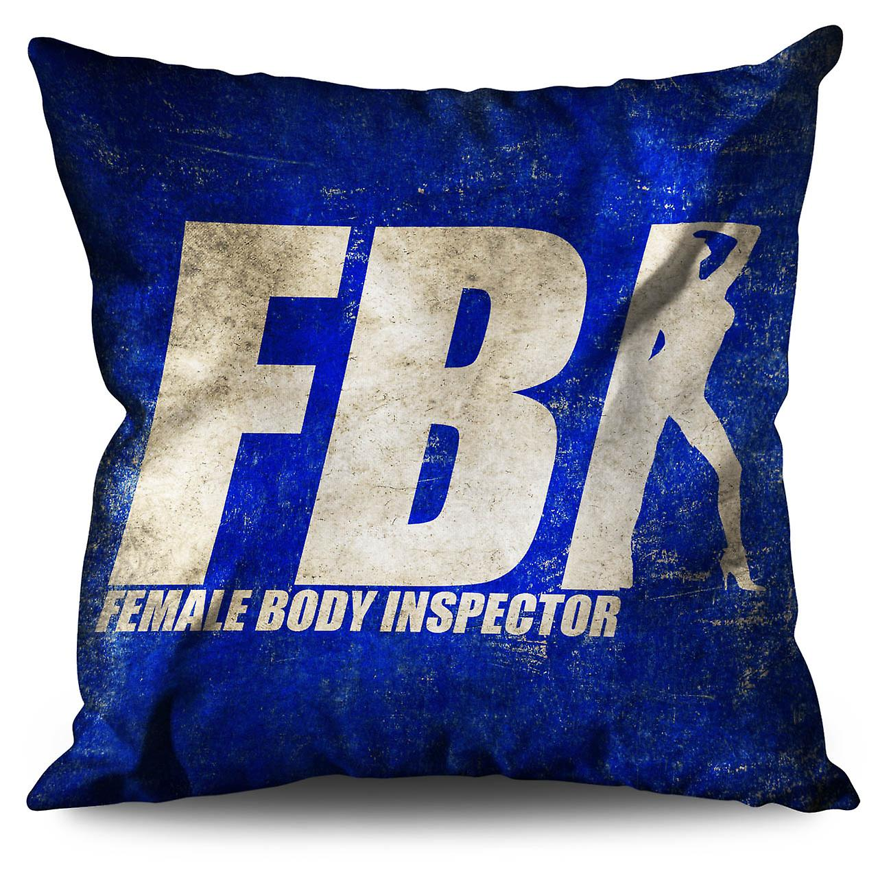30cm Linen Cushion Offensive Funny XWellcoda Joke b7IYfym6vg