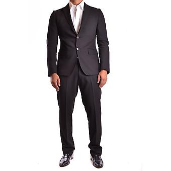Guess by Marciano men's MCBI144003O black polyester suits