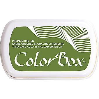 ColorBox Premium Dye Ink Pad-Olive 159-07