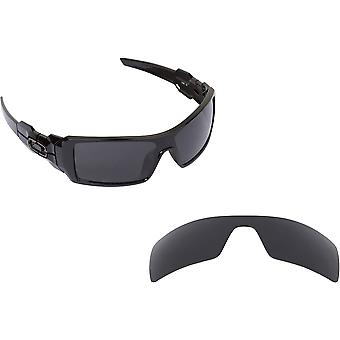 Oil Rig Replacement Lenses Classic Grey by SEEK fits OAKLEY Sunglasses