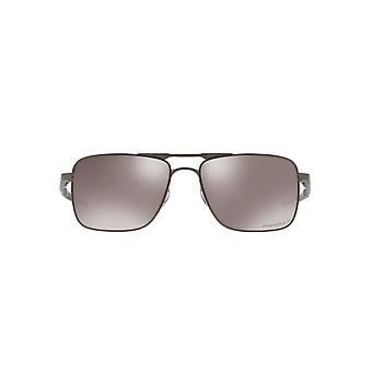 Oakley Gauge 6 Sunglasses In Pewter Black Prizm Polarized