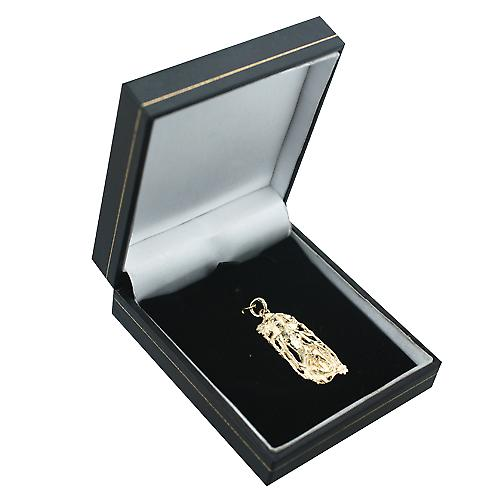 9ct Gold 33x17mm Scorpio Zodiac Pendant