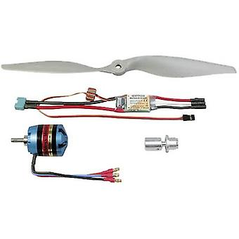 Model aircraft brushless motor Multiplex 332649 Compatible with: Multiplex Fun