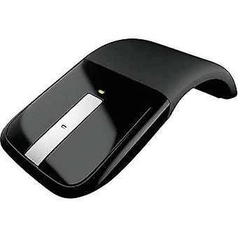 Wireless mouse Optical Microsoft Arc Touch Mouse Touch surface Black