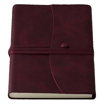 Coles Pen Company Amalfi Medium Journal - Burgundy