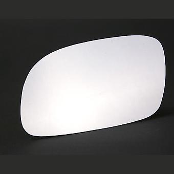 Left Stick-On Mirror Glass Easy to Fit For Hyundai Accent Saloon 1994-2000