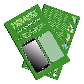 LG K10 screen protector (deliberately smaller than the display, as this is arched)