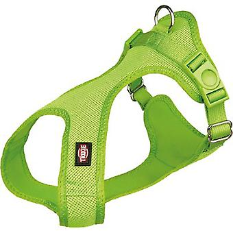 Trixie Arnés Suave para Perros Verde S (Dogs , Collars, Leads and Harnesses , Harnesses)