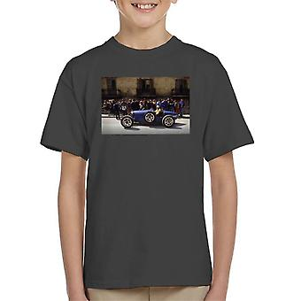 Bugatti Type 3 Racing Car Shot Kid's T-Shirt